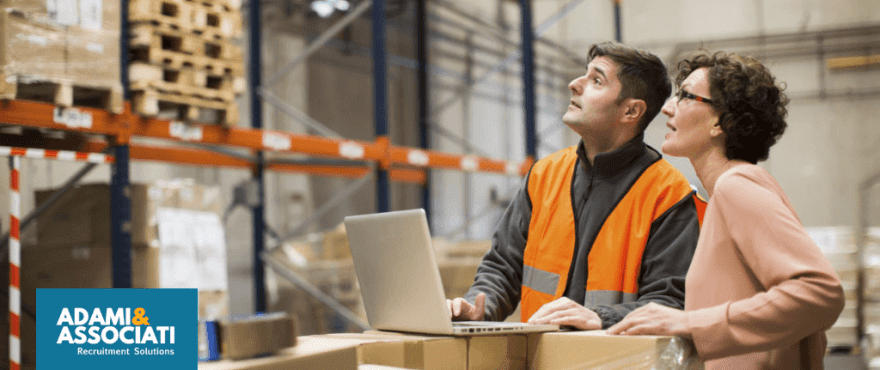 Ricerca del personale per la logistica