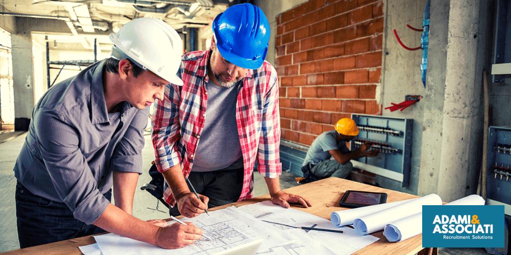 Ricerca di personale per il settore edile