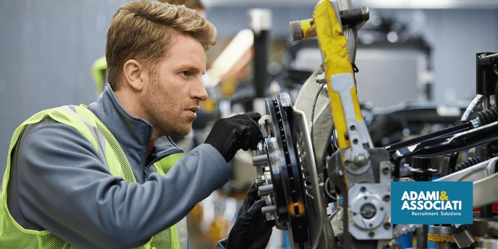 selezione di personale peril settore automotive