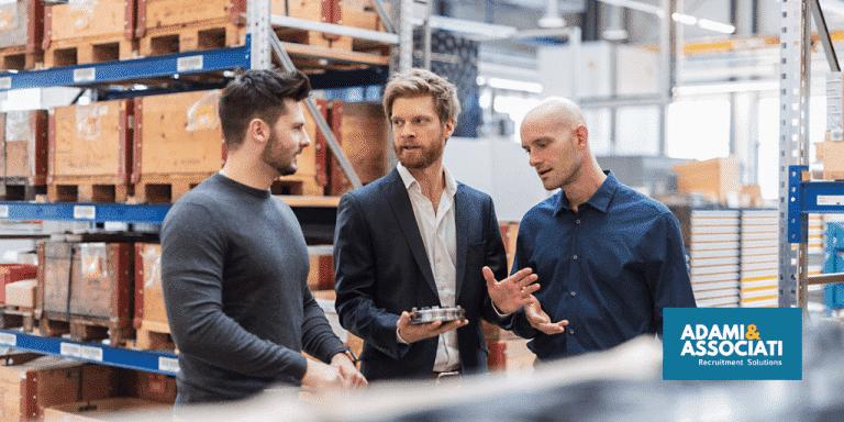 supply chain manager manifatturiero